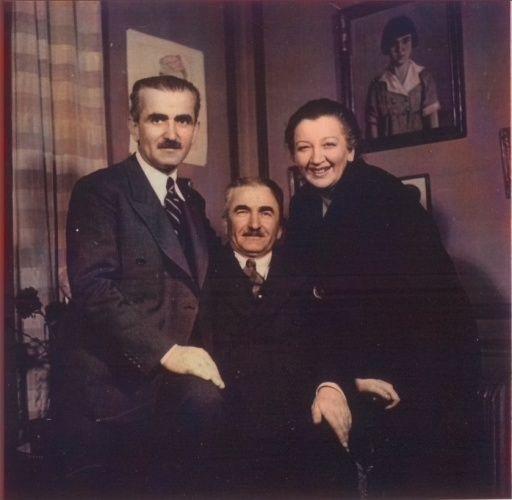 Nuri Killigil, Kamil Killigil ve Naciye Sultan.jpg