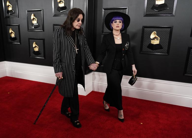 Ozzy Osbourne ve kizi Kelly Osbourne - REUTERS.jpg