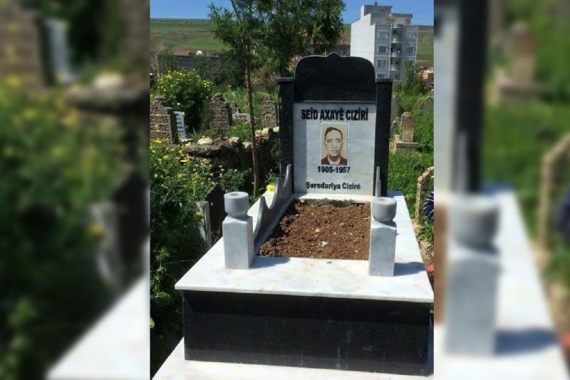 Vasiyeti üzerine Seid Axa'nın cenazesi Cizre'ye toprağa verildi