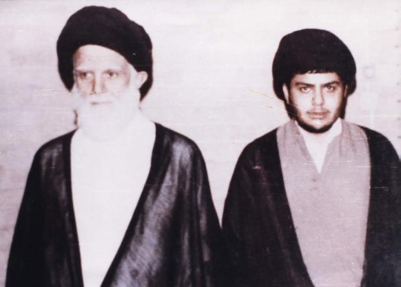 Mukteda es Sadr ve babası Muhammed Sadık es Sadr.jpg
