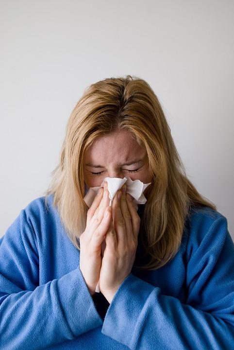 Grip hasta kadın. Pixabay.jpg