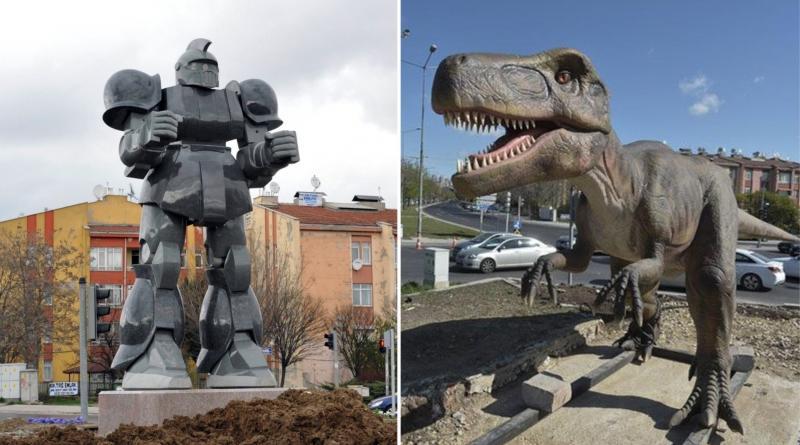 robot dinozor