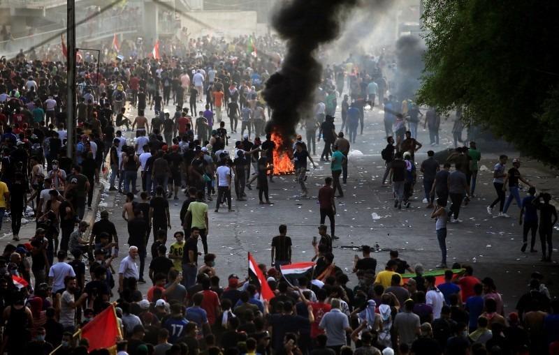 Iraktaki protesto gösterileri devam ediyor