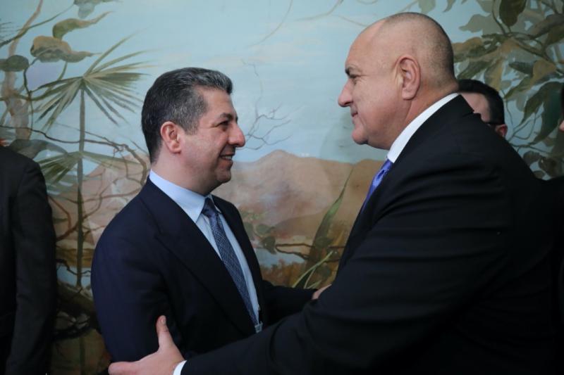 Mesrur Barzani - Boyko Borisov