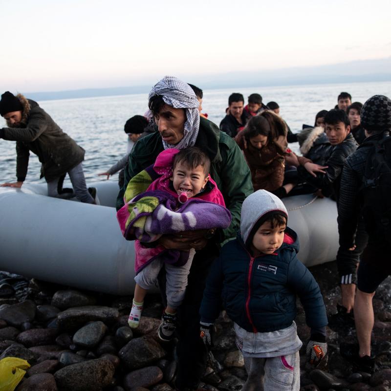 Çocuk göçmen Türkiye Yunanistan Reuters.jpg