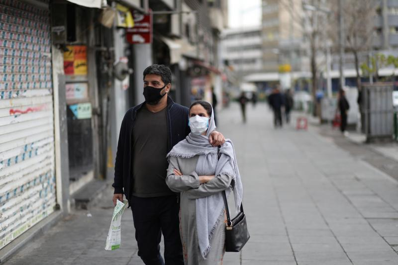 İran koronavirüs maske Reuters.JPG