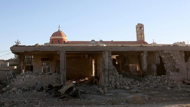 Musul'daki Dominikan rahiplerine ait kilise-AA-Yunus Keleş.jpg