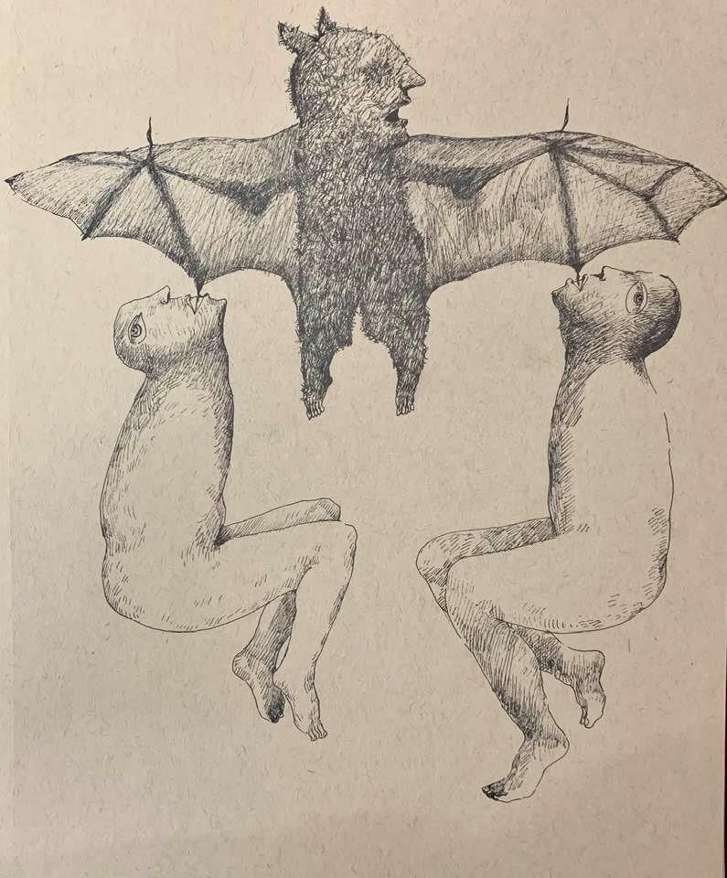 Iraklı sanatçı Sinan Hüseyin'in resmi.jpg
