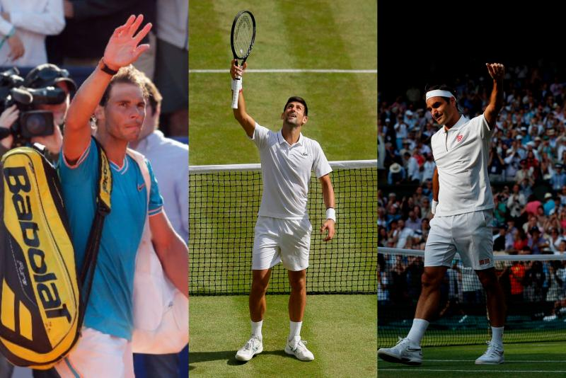 Nadal-Djokovic-Federer - AFP.jpg