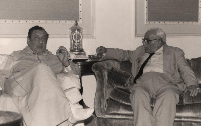 Omar Bahaaddin Al-Amiri ve Hesenê Zaza   1985.jpg