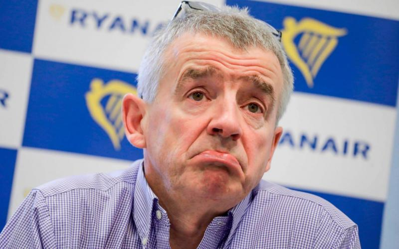 Michael O'Leary _AFP