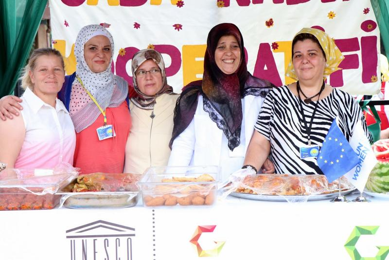 Women are at Gastrofest - Credit Tayfun Yılmaz UN Women.JPG