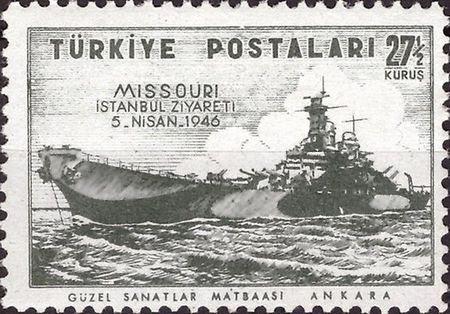 Missouri Zırhlısı için basılan pul.jpg
