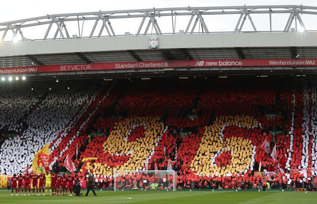 Liverpool taraftar the kop-Reuters.jpg