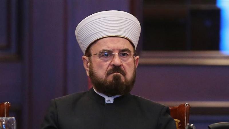 Dünya Müslüman Alimler Birliği Genel Sekreteri El Karadaği AA.jpg