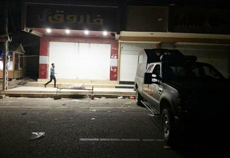 Kerkük'te dükkanlar kapatılıyor- Foto -Kerkük Kriz Birimi.jpg