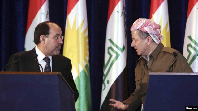 Nuri Maliki - Mesud Barzani
