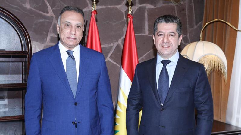 Mustafa el-Kazimi - Mesrur Barzani