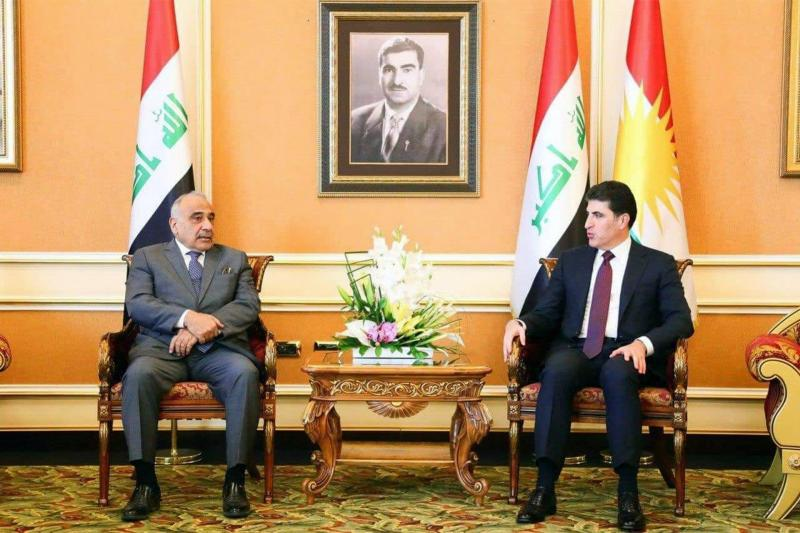 Adıl Abdulmehdi - Neçirvan Barzani
