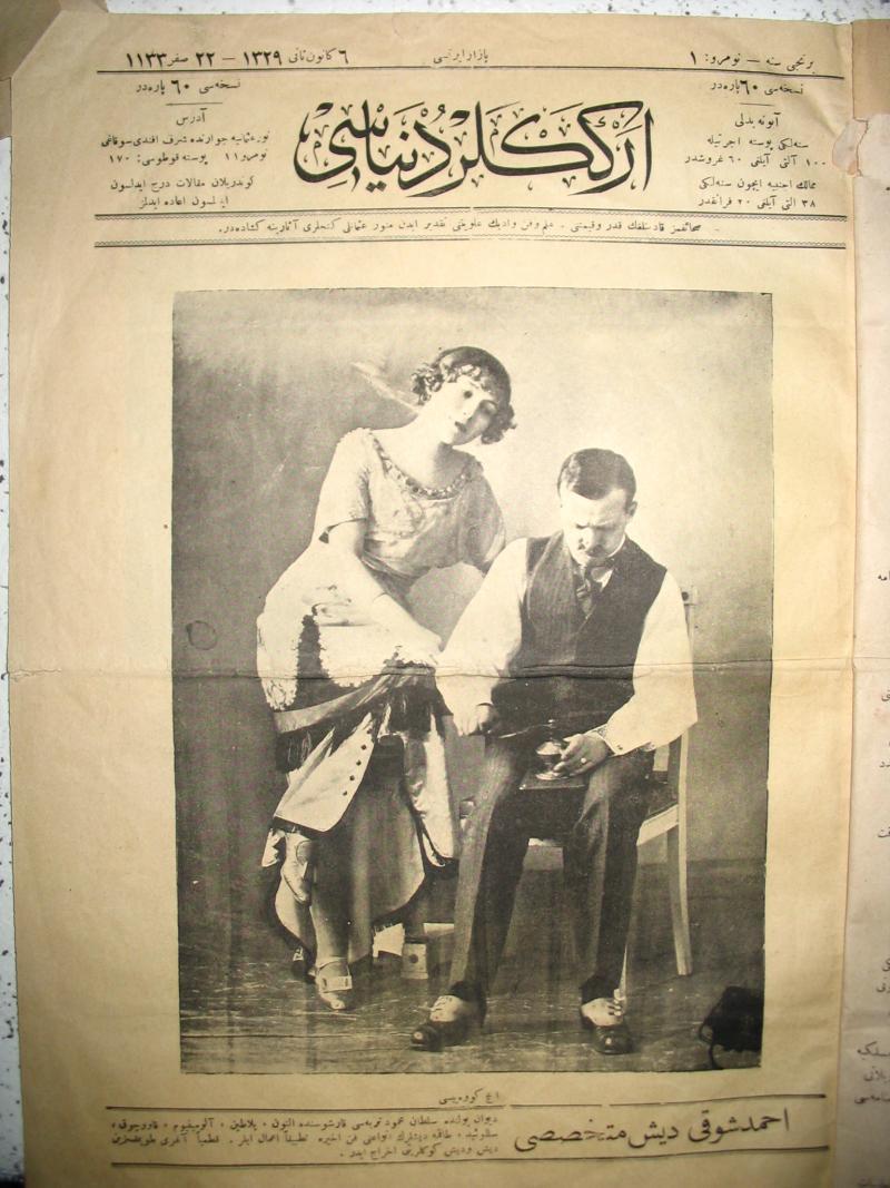 Mevlanzade'nin çıkardığı tek sayılık Erkekler Dünyası  dergisi-19 Ocak 1913 tarihli nüshası.jpg
