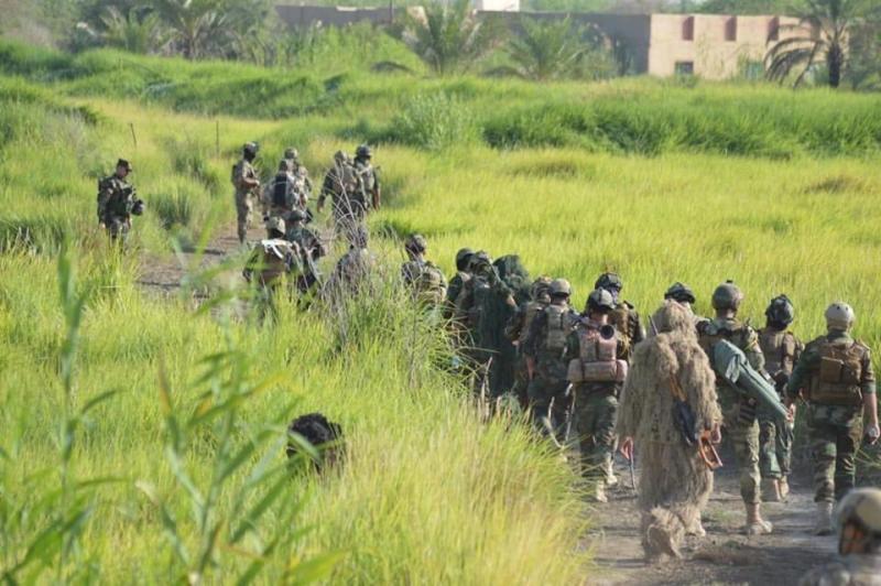 Irak ordusundan IŞİD'e 5 koldan operasyon