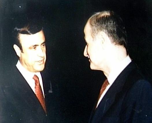 Rıfat Esat ile abisi Hafız- Le point dergisinde kullanılan resim.jpg