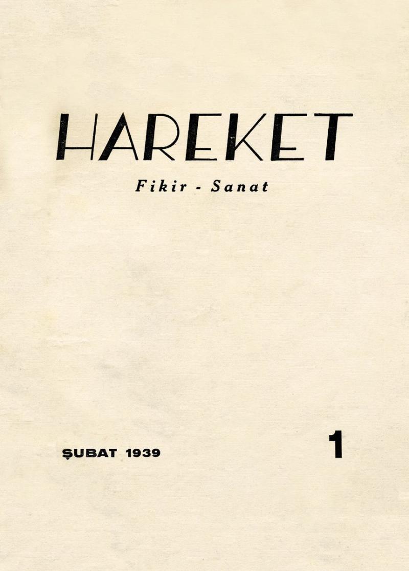 Hareket dergisinin ilk sayısının (Şubat 1939) kapağı.jpg