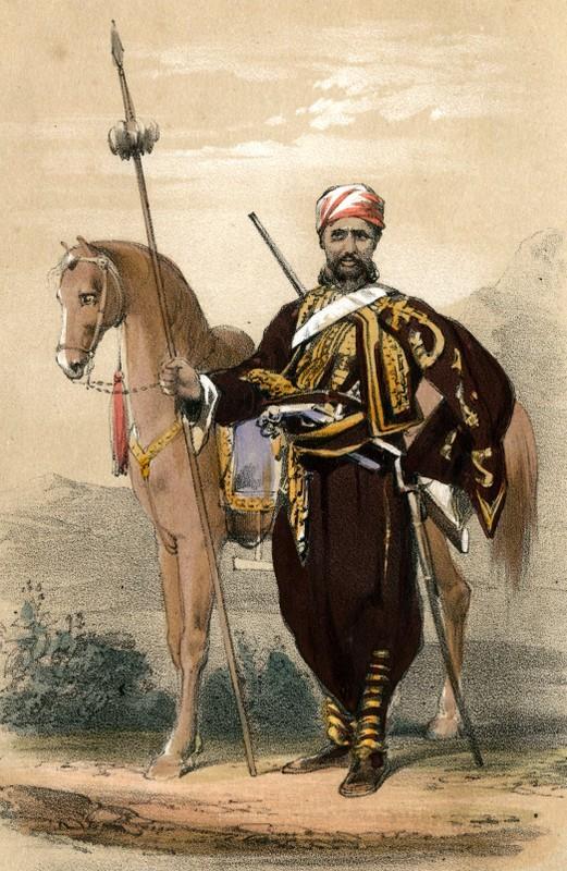 Arap Başıbozuk 1835.jpg