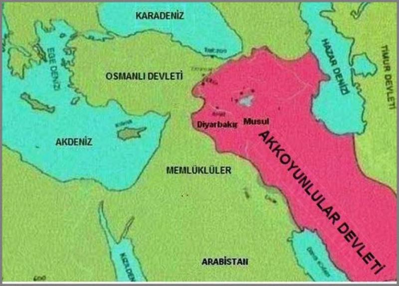 Akkoyunlu Devleti'nin hükmettiği bölge haritası.jpg