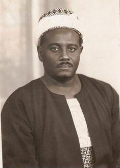 Mübarek'in karıştığı suikastta öldürülen Sudanlı muhalif lider İmam el Mehdi Hadi. .png