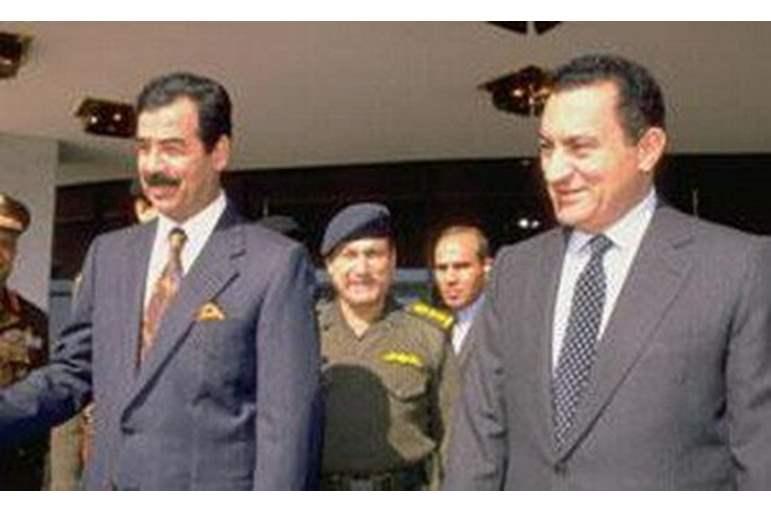 Mübarek, Saddam ile yaptığı görüşmeleri, sonradan açıklamış.jpg