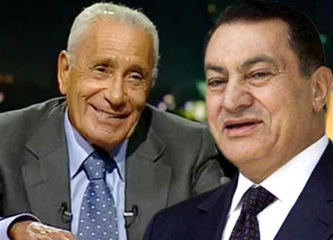 Gazeteci-yazar M. H. Heykel ve Devlet Başkanı H. Mübarek-.jpg