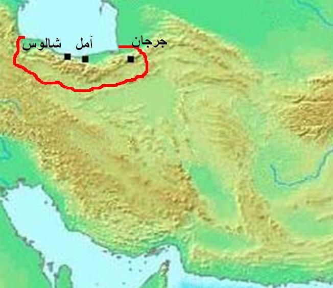 Taberistan'ın bölge sınırları.jpg