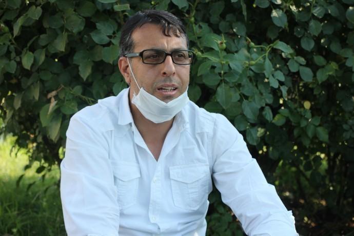 Sağlık ve Sosyal Hizmetler Emekçileri Sendikası Diyarbakır Şube Eş Başkanı Psikolog Şiyar Güidiken.jpg
