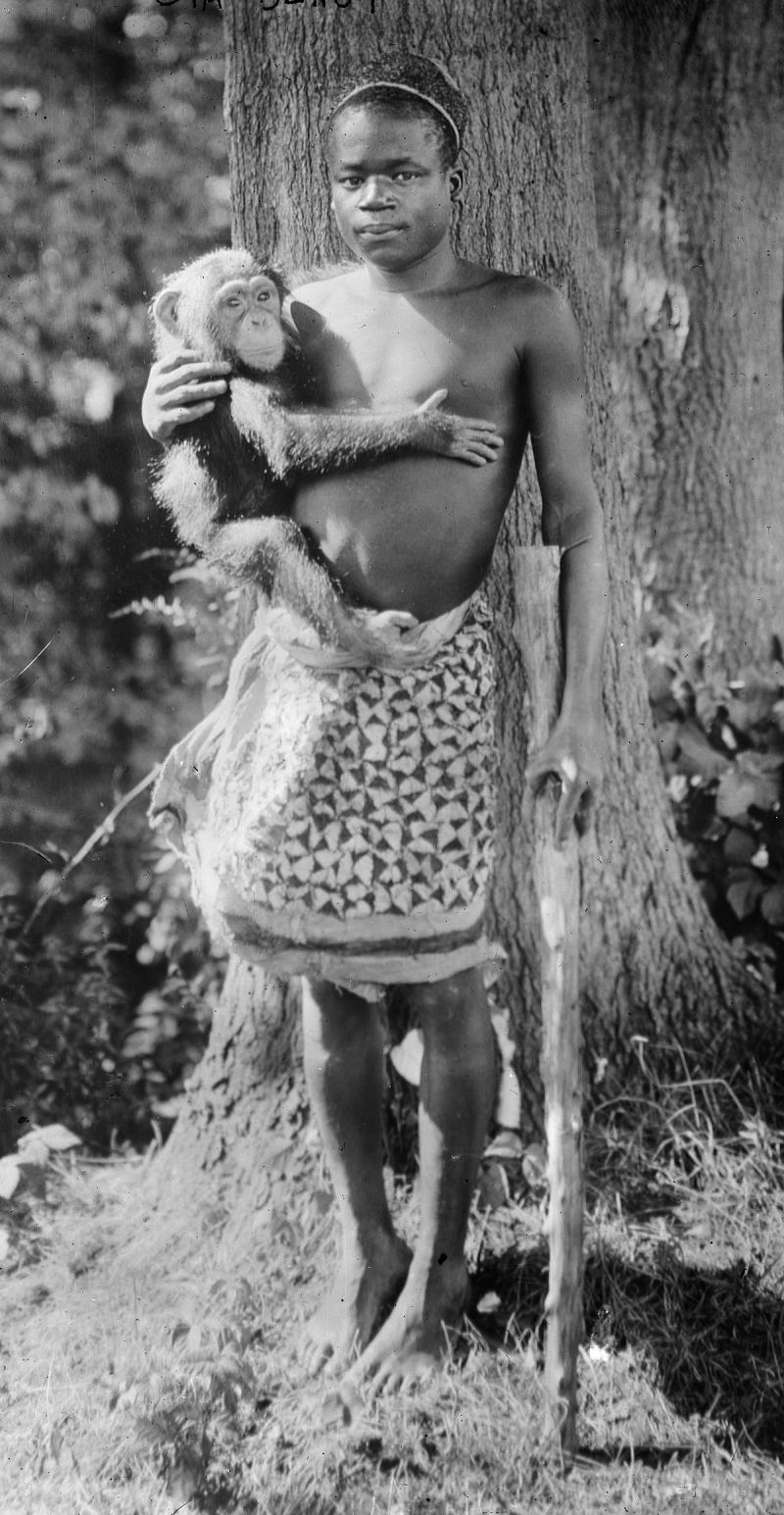 Ota Benga 'İnsanın Eski Ataları'.jpg