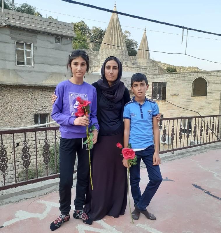 Emir, Emira ve Hadiya Khudeda Hussein kardeşler