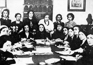 Hüda Şa'rawi ve Mısırlı ilk feministler.jpg