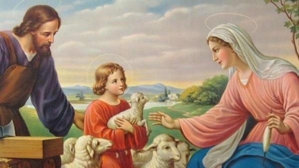 Mısır yolcluluk sonrasında Hz. İsa'nın çocukluk hali.jpg