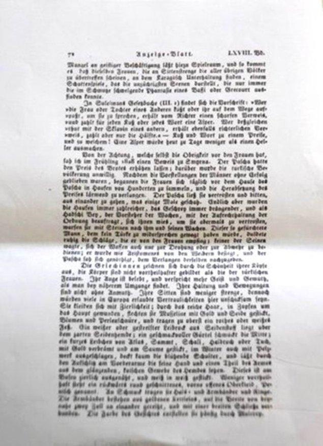 Avusturya-Macaristan Elçisinin İzmirli kadın isyanından bahseden dergi sayfası.jpg