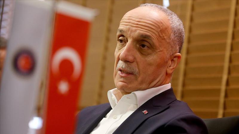 TÜRK-İŞ Genel Başkanı Ergün Atalay. AA.jpg