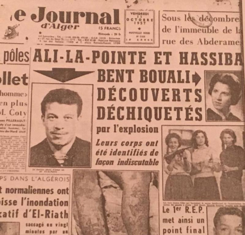 Fedai militanlar Ali le Pointe ile Hasibe bint BuAli'nin katledilme haberi-n_2.jpg