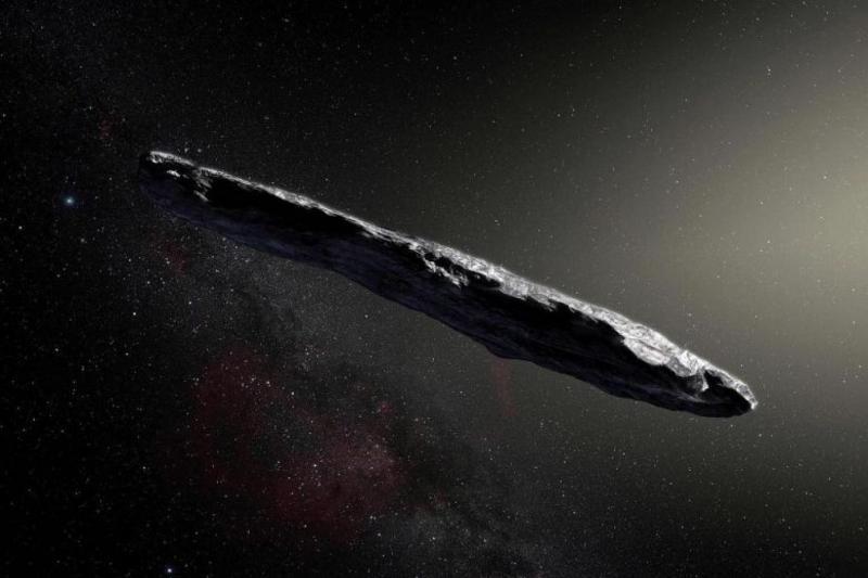 Oumuamua isimli cisim ilk kez 2017'de tespit edilmişti (AFP).jpg