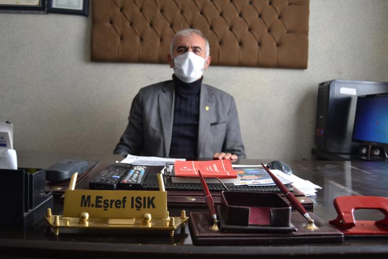 Silvan Esnaf ve Sanatkarlar Odası Başkanı Mehmet Eşref Işık.JPG