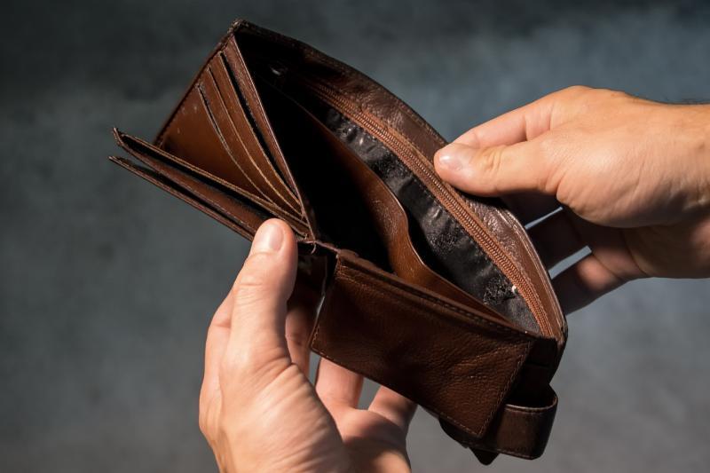 boş cüzdan iflas para nakit Pixabay.jpg