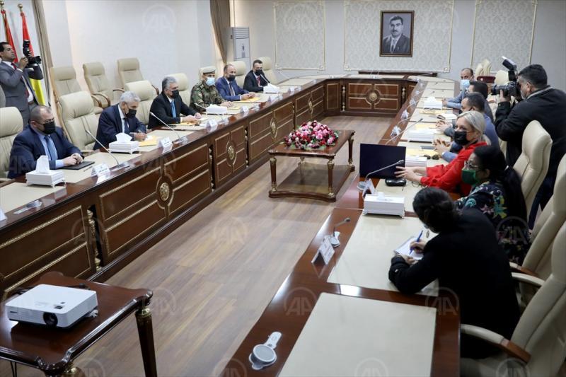 Bağdat ve Erbil heyetleri anlaşmayı uygulamak için bir araya geldi