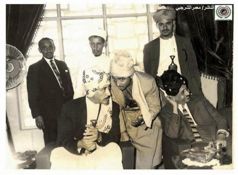 Babası yerine tahta geçen İmam Kral Muhammed el Bedr, Suudi Arabistan'da.jpg