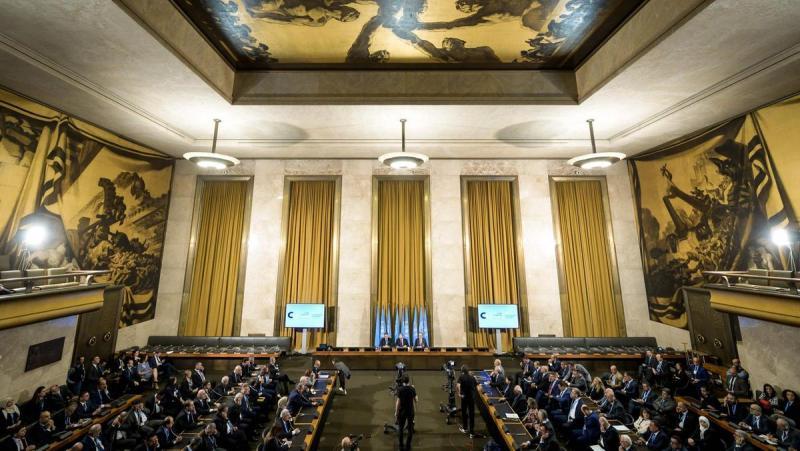Suriye Anayasa Komitesi'nin 4. tur görüşmeleri başladı
