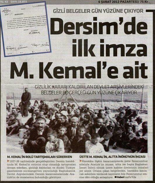Dersim'e kapsamlı askeri operasyon yapılması kararına ilk imzayı Cumhurbaşkanı M. K. Atatürk atmış. .jpg