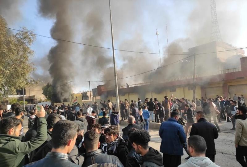 Bağdat'ın Erbil'in bütçesini göndermemesi Kürt sokağına şiddet olarak yansıdı