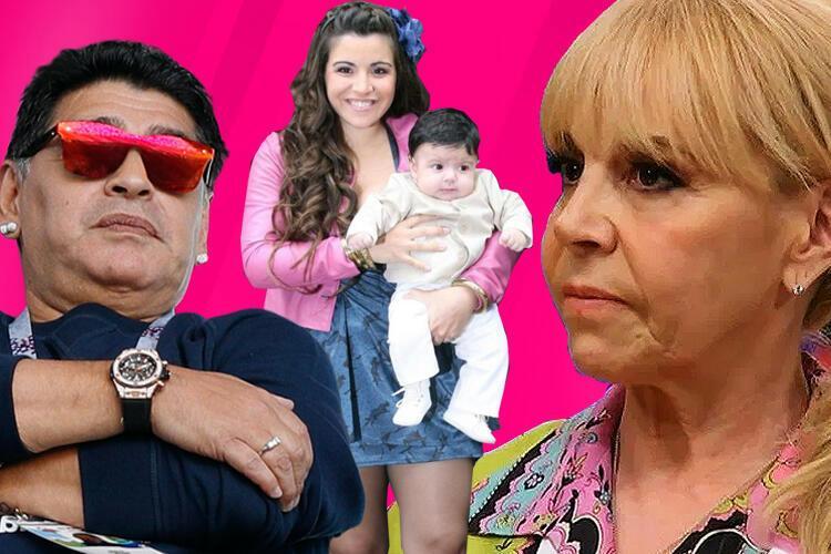 Evlilikleri ve çocuklarının sayısıyla da gündeme gelmişti Maradona.jpg